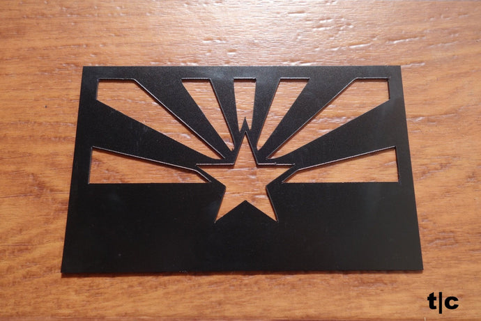arizona state flag magnet