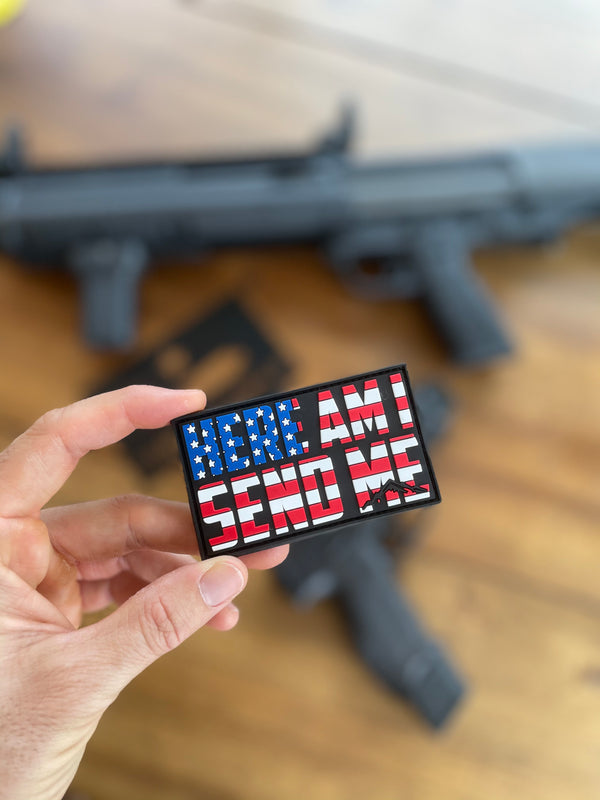 Send Me Patriotic Patch