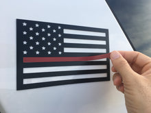 thin red line magnet insert