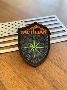 tactilian compass topography patch