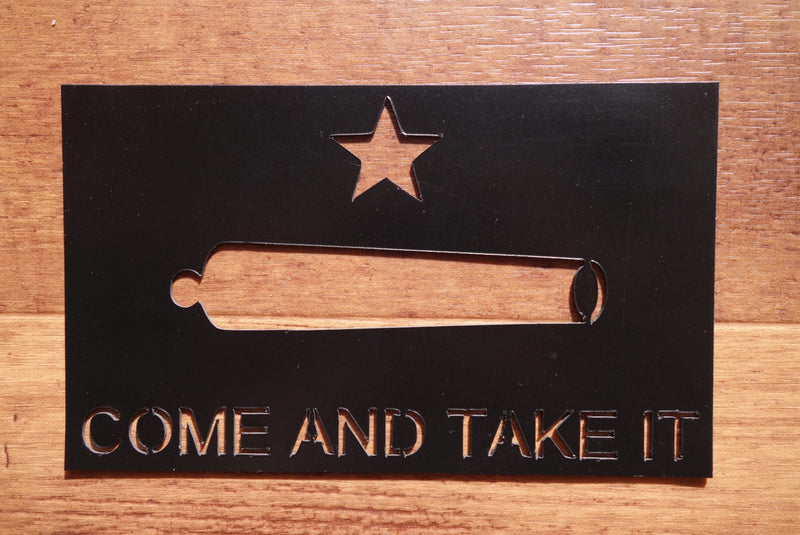 Come And Take It Vehicle Magnet (Small)