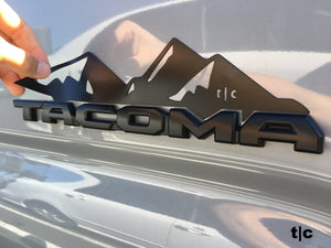 Tactilian tacoma badge mountain magnet