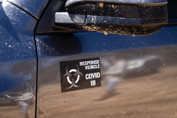 Covid-19 Response Vehicle Magnet