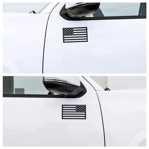 American Flag Magnets - Black