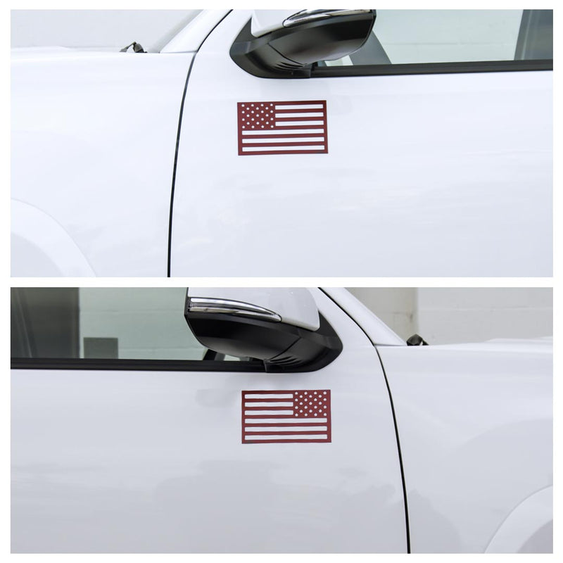 American Flag Magnets - Red