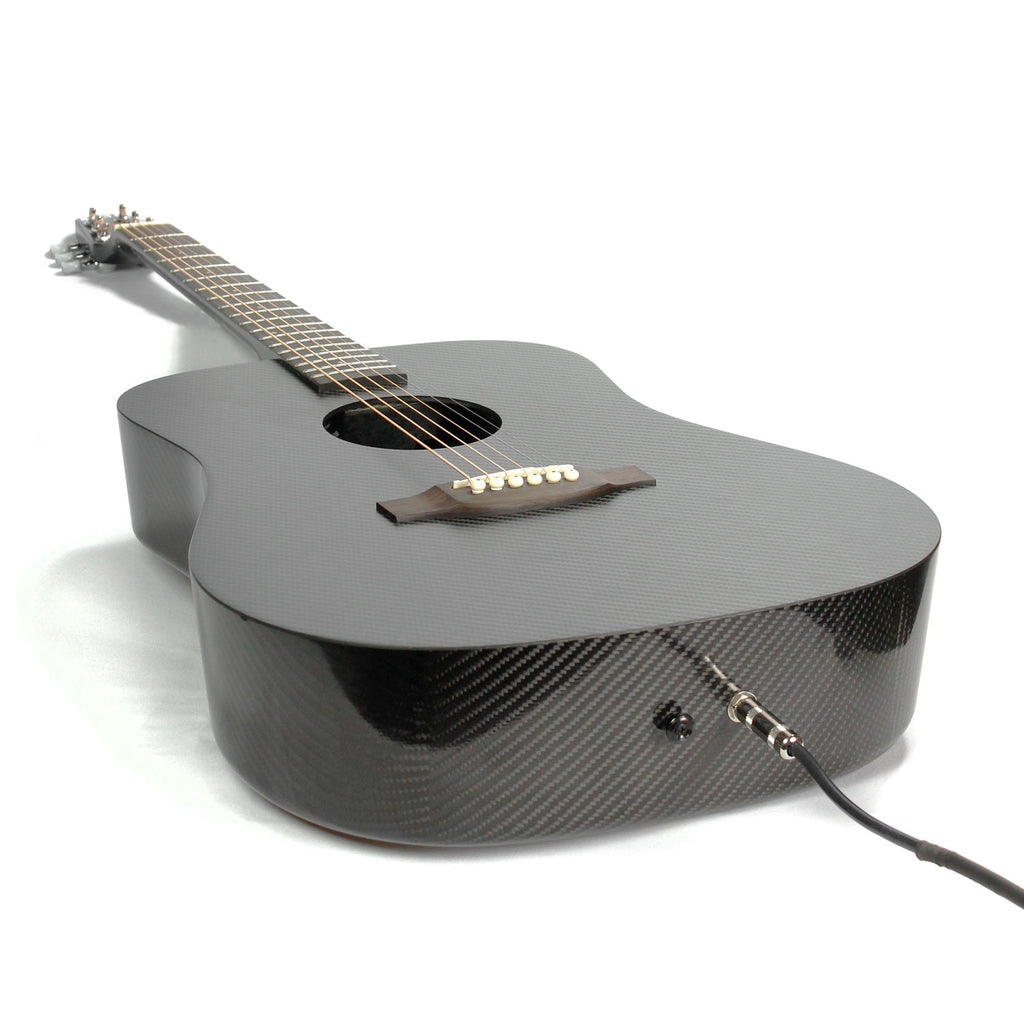 Klos Carbon Fiber Acoustic Electric Guitar Full Size Guitars Violin Preamplifier Fishman Sonitone Onboard Preamp System