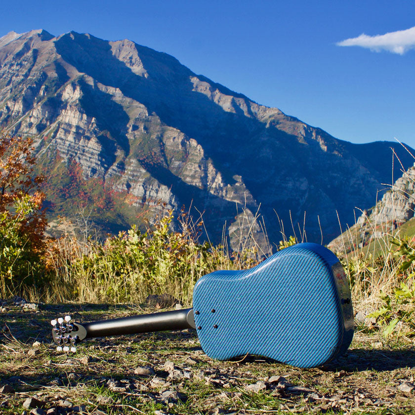 best travel guitar portable in the mountains