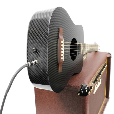 KLOS Carbon Fiber Acoustic Electric Travel Guitar - KLOS carbon fiber travel guitars and ukuleles