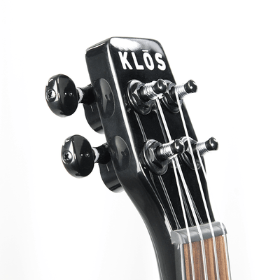 KLOS Deluxe Acoustic Electric Ukulele - KLOS carbon fiber travel guitars and ukuleles
