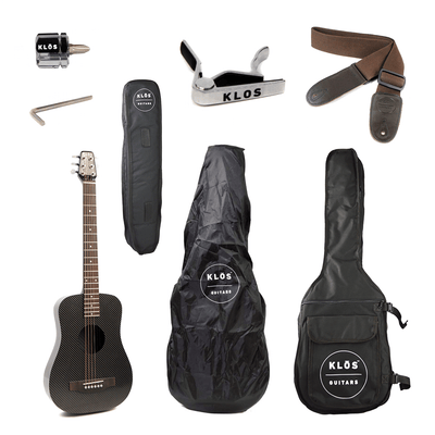 KLOS Carbon Fiber Acoustic Electric Travel Guitar - KLOS Guitars
