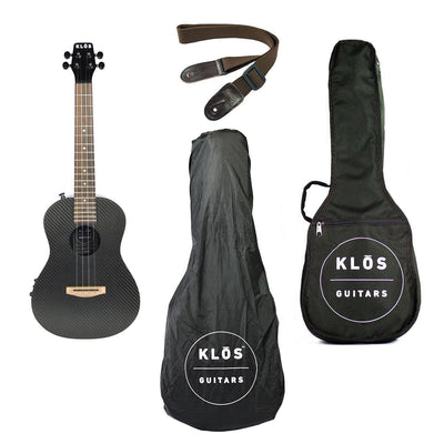 KLOS Deluxe Acoustic Electric Ukulele - B Stock - KLOS Guitars