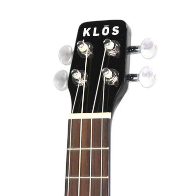 KLOS Carbon Fiber Acoustic Ukulele - KLOS carbon fiber travel guitars and ukuleles