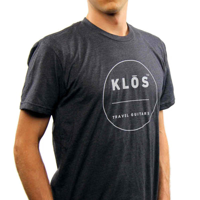 KLOS T-SHIRT - Mens - KLOS carbon fiber travel guitars and ukuleles