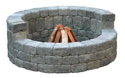 "MUTUAL HIGH-BACK CIRCLE 58""FIRE PIT KIT"