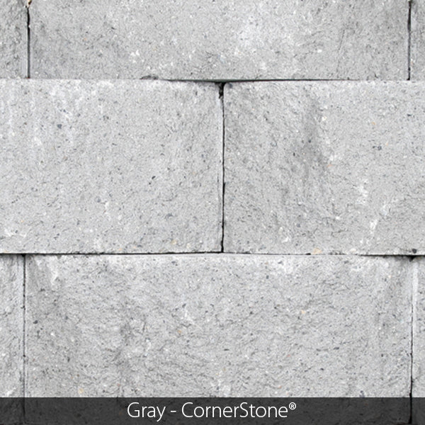 CORNERSTONE 4X18X12 F50 STRAIGHT SIDE CAP