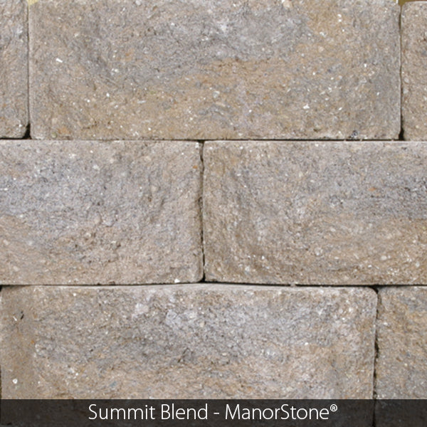 MANORSTONE CORNER UNIT RETAINING WALL