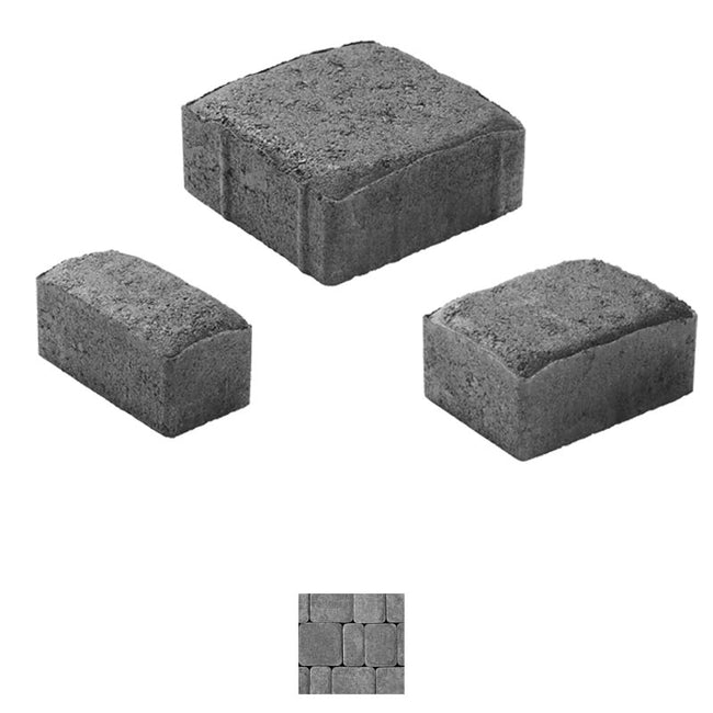 OLD DOMINION SQUARES & RECTANGLES (102.74 sq. ft.) CONCRETE PAVER