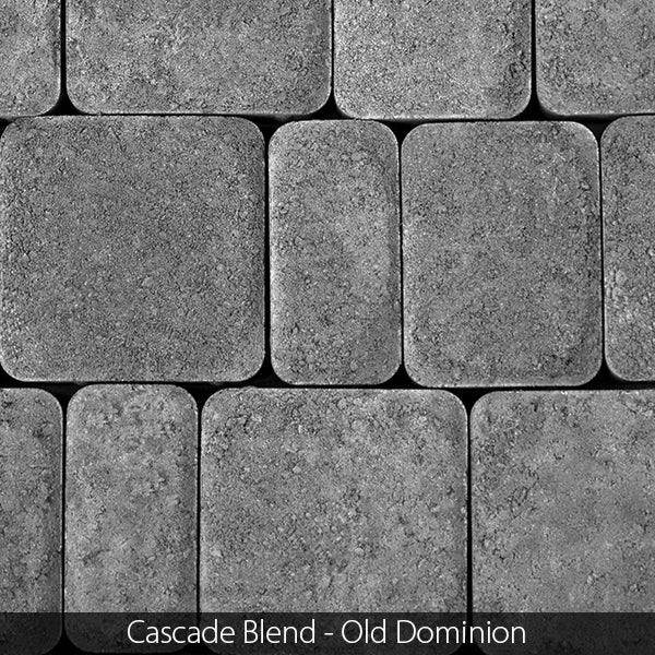 OLD DOMINION CIRCLE PATIO KIT (39.27 sq. ft.) CONCRETE PAVER