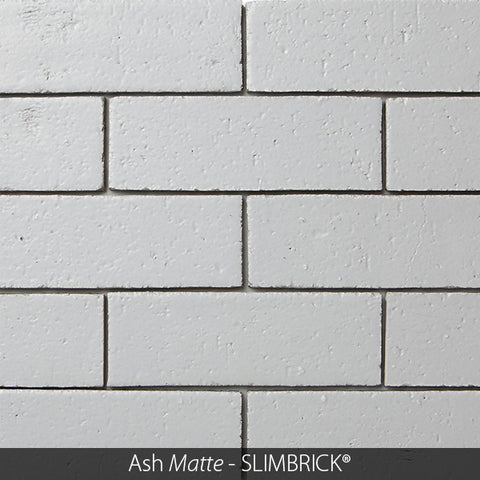 CRANBERRY MATTE GLAZED SLIMBRICK® THIN BRICK TILE