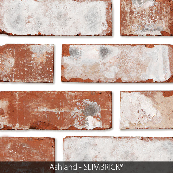 ASHLAND CRAFTSMAN SLIMBRICK® THIN BRICK TILE (Temporarily out of stock)