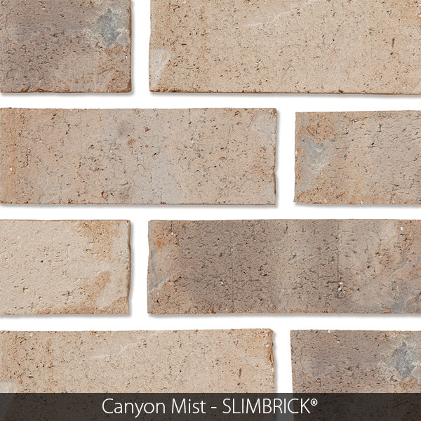 CANYON MIST CRAFTSMAN SLIMBRICK® THIN BRICK TILE