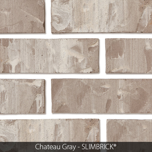 CHATEAU GRAY CRAFTSMAN SLIMBRICK® THIN BRICK TILE