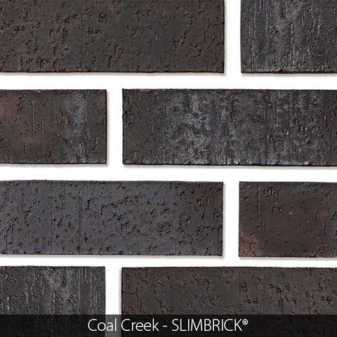 CRANBERRY RED MATTE GLAZED SLIMBRICK® THIN BRICK TILE