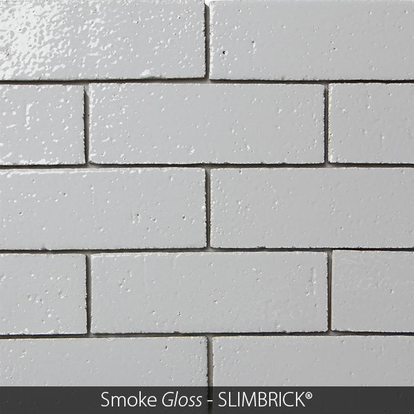 SMOKE GLOSS GLAZED SLIMBRICK®