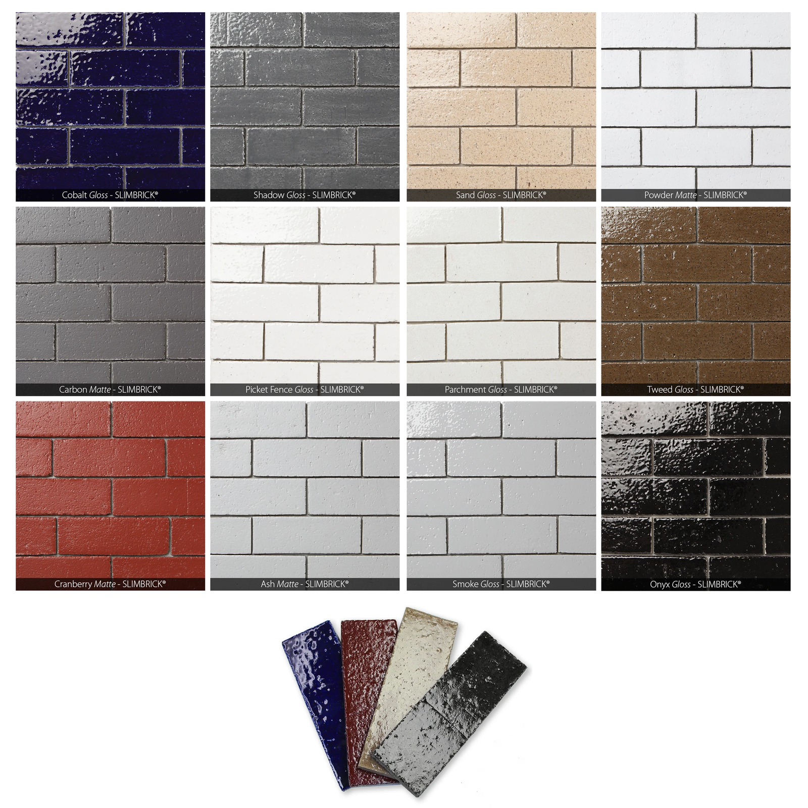 GLAZED SLIMBRICK® SAMPLE 4 PACK
