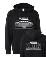 1959 Big Window Ford Pickup Hoodie