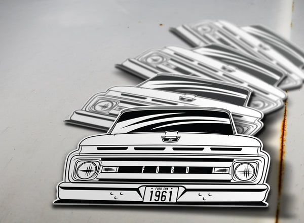 1961 Ford Pickup Sticker
