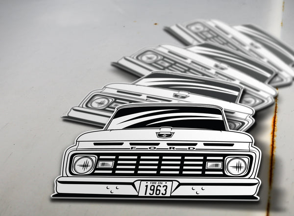 1963 Ford Pickup Sticker