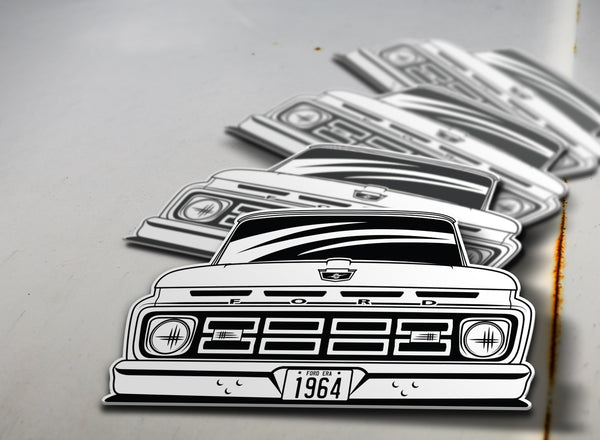 1964 Ford Pickup Sticker
