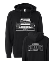 1960 Big Window Ford Pickup Hoodie