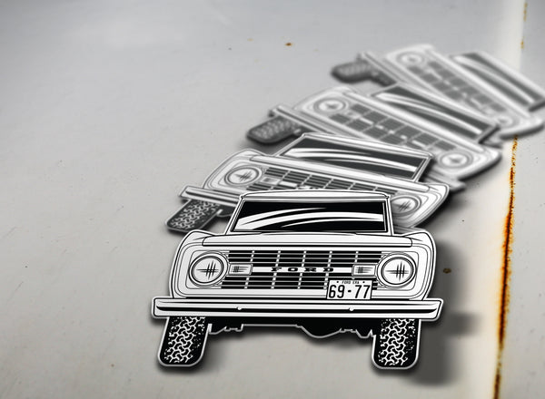 1969-77 Ford Bronco Sticker