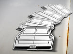 1961-66 Ford B100 Rear Sticker