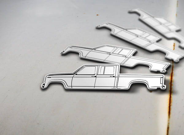 1980-86 Ford Crew Cab Pickup Sticker