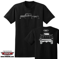 1957-60 Ford Crew Cab 4x4 Truck T-Shirt