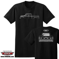 1965-66 Ford Crew Cab Low Truck T-Shirt