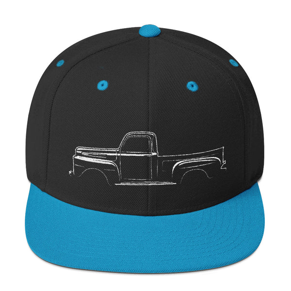 1948-1952 F-Series Side View Snapback Hat