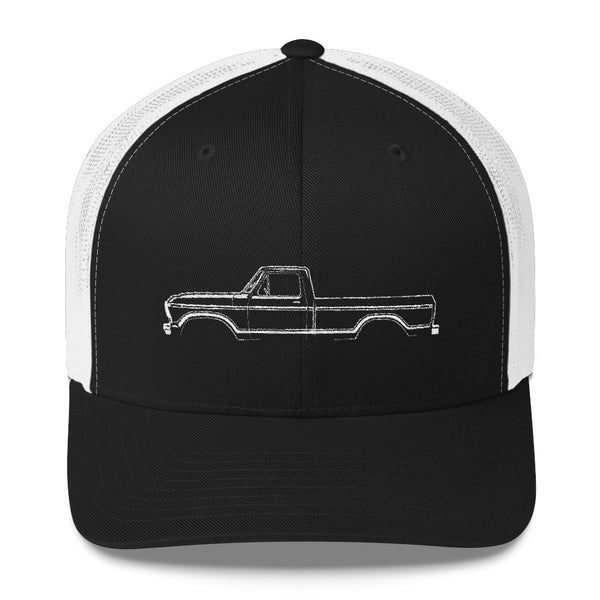 1973-79 F-Series Side View Trucker Cap