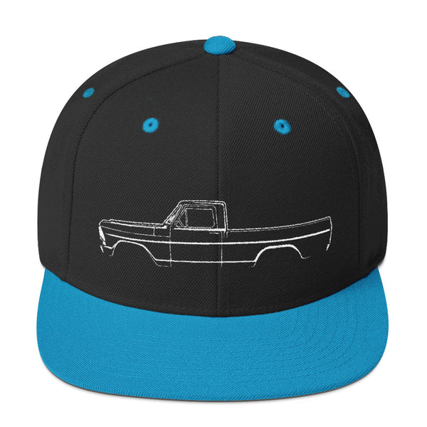 1967-72 F-Series Side View Snapback Hat