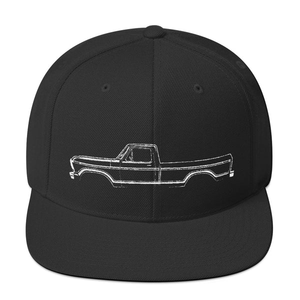 1973-79 F-Series Side View Snapback Hat
