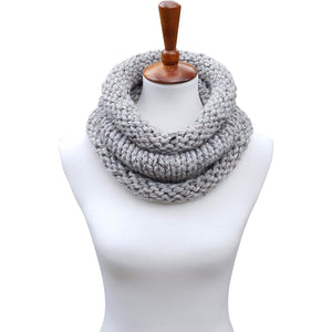 The Birch Cowl - Gray Tweed