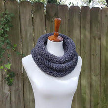 The Birch Cowl - Graphite Tweed