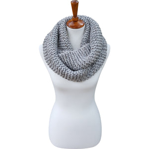The Winnipeg Scarf - Gray Tweed