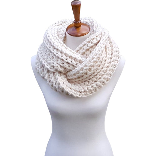The Glacier Bay Scarf - Cream