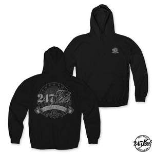 "247 Ink Magazine ""Crest"" Patch Hoodie"