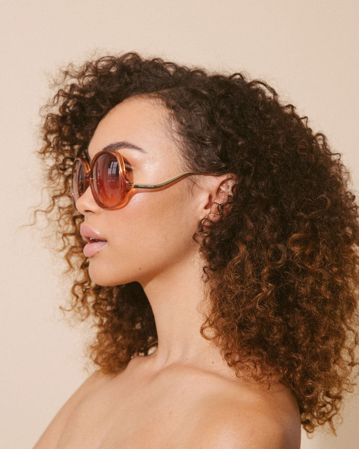 Velvet Canyon 70s vintage inspired sunglasses, Disco Inferno Red