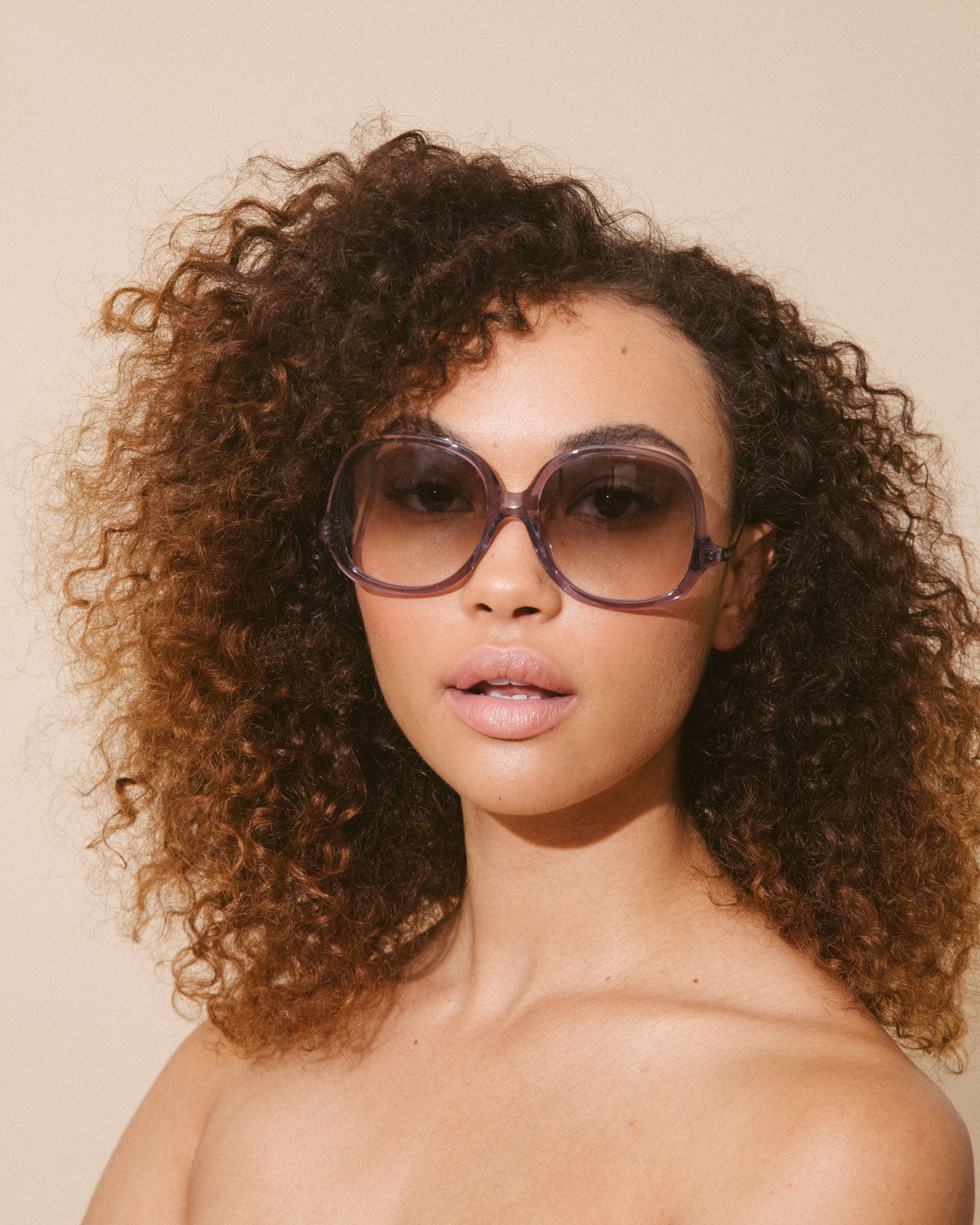 Velvet Canyon 70s vintage inspired sunglasses, Disco Inferno Smoke